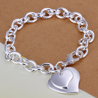 Wholsale new 925 Sterling Silver fashion jewelry BRACELET & bangle free shipping Penoyjewelry LKNSPCH279