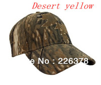 2013 Newest Baseball cap FREE SHIPPING outdoor camouflage baseball caps wholesale summer sun visor  Desert Yellow