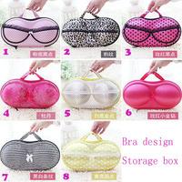 BF050 Hot portable travel underwear storage box covered bra panties finishing box storage box  Free shipping