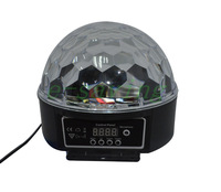Digital LED RGB Crystal Magic Ball Effect Light DMX Disco DJ Stage Lighting Multifunction