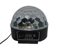 Digital LED RGB Crystal Magic Ball Effect Light DMX Disco DJ Stage Lighting Multifunction