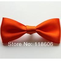 200pcs Wholesale Dog Hair Bow Hair Clip Halloween Bows Orange Free Shiping