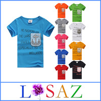 Summer Cartoon Cotton T-shirt For Children Boys Clothes Children's T shirts