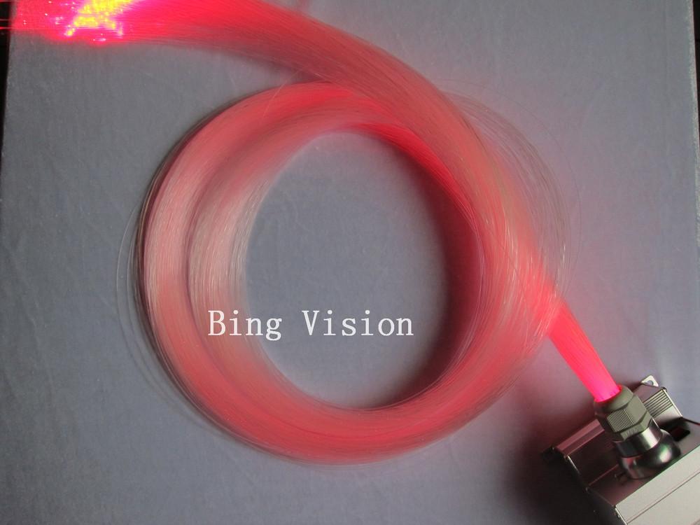 twinkle fiber optic Star ceiling kit,150 pcs PMMA optic fiber 3m long, with 10w RGB light engine with remote(China (Mainland))