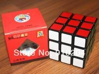 Free shipping!! New shengshou Wind 3x3x3 magic speed cube 3x3 puzzle Black