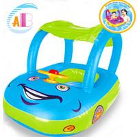 2014 belt sun-shading speaker boat infant children boat seat swim ring floating ring free shipping