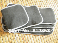 Free shipping (100pcs/lot)wholesale high quality bamboo charcoal inserts for baby cloth diaper 4 layers