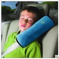 Blue safety seat belt shoulder pad sets child car safety belt cover car safety belt shoulder pad set