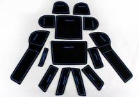 Free Shipping High quality Silica gel Gate slot pad,Teacup pad,Non-slip pad(14 pcs) For 2012-2013 SUBARU XV