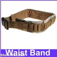 Top quality Hot selling Promotion High Quality Adjustable Durable Bandolier Ammo Belt Shotgun Shells Belt Waist Band - Brown