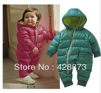 Baby romper winter baby romper  cotton-padded jacket thermal cotton-padded jacket thick