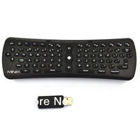 MINIX NEO A1+ 2.4GHz Wireless Gaming Air Flying Mouse & Keyboard Remote Control Support Android PC OS / Mac OS / Linux / Windows