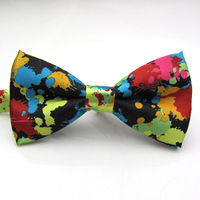 New Spring 2014 Fashion Print Bow Tie High Quality Low Price Ties For Men and Women Free Shipping