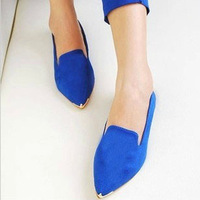 Brand Fashion Women Flats Low Heel Shoes New 2014 Summer Autumn Shoes Woman Casual Sapatos women british Flat metal shoes single
