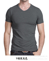 2013 new fashion PMG Men short-sleeve T-shirt 100% cotton modal o-neck short-sleeve T-shirt men shirt male  free shipping