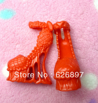 Free Shipping Amazing Fashion Original  Monster High Dolls'  Shoes and Earrings Good Quality The Brand Accessories