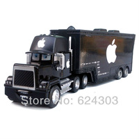 Black Apple MACK TRUCK 100% Original !! Pixar Cars 2  toys ALLOY Diecast Children gift