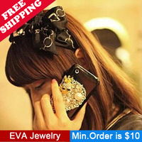 Min.Order is $10.5 F03006 hair satin bow hair bands headband hair