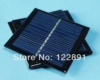 High Quality !0.6W 5.5V Solar Cell  Polycrystalline Solar Panel Solar Cell Panel DIY Solar Charger 65*65*3mm Free Shipping