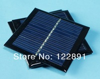 High Quality !0.6W 5.5V Solar Cell  Polycrystalline Solar Panel Solar Cell Panel DIY Solar Charger 65*65*3mm Free Shipping