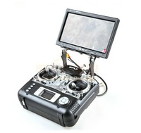 FPV Monitor Mount Holder Display Support Folding Carbon Fiber for Transmitter