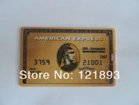 Wholesale Fashion Express American Credit card 4GB 8GB 16GB 32GB USB Flash 2.0 Memory Drive Stick Pen/Thumb/Car free shipping