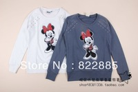 Children's clothing adult female paragraph teenage pullover sweatshirt 155 - 170