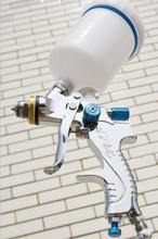 Aire HVLP pistola de pulverización / arma de la pintura / herramientas de aire / herramientas neumáticas / 600 ml spray de alimentación por gravedad pistola / alta calidad /