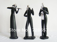 Classic and Lifelike Decorative Polyresin Music Band Portrait Figurine Ornament Craftworks Embellishment Accessories Furnishing