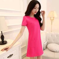 sexy Chiffon Shirt Women Blouses 2014 summer Chiffon shirts Leisure Blouses woman stitching , L611