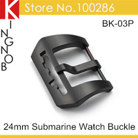 High Quality 316L Stainless Steel 24mm Watch Buckle Clasp PVD Hollowed Submarine Tang Buckle For Panerai Strap Free Shipping