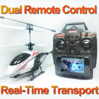 Free shipping 352W Eagle-I Helicopter real-time video transimission,Photo image record,3D Gyro Stabilizer system,LED lighting.