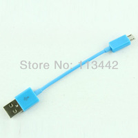 Cute 8cm short  Micro USB Cable 2.0 Data sync Charger cable for SamSung Galaxy S3 i9300 S2 i9100 HTC Nokia Blackberry