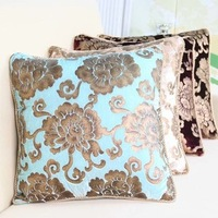 Free Shipping quality gold-printing velvet neoclassical throw pillow cover/cushion cover High-end Wedding Decoration