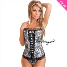 woman corset top lace