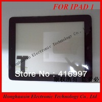 Wifi version 1PCS free shipping for iPad 1 touch screen digitizer display for apple ipad 1 1st