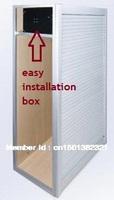 Aluminum roller shutter tambour door kitchen cabinet roller shutter