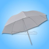"40"" 102cm Soft White Diffuser Studio Photography Translucent Umbrella for Studio Flash Strobe Lighting"