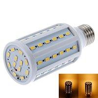 AC 210-240V LED Corn Light Lamp Bulb E27 15W 60 LED 5630 SMD Warm Pure White Energy Saving AC 220V LED Bulbs Tubes Free Shipping