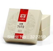 [DIDA TEA] PROMOTION !! 2012 yr Menghai Tea factory DAYI 7572 Ripe Pu Er Puer Shu Cake Classic Recipe,TAETEA CHA 150g Mini cake