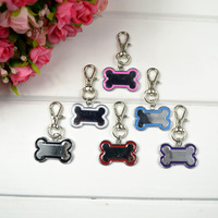 Free Shipping New Pet Dog Tag Cat Tag Many Designs Dog Bone design Random Color sent