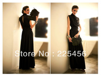 Free shipping 2013 women's lady's folds party long floor-length hot sell dress