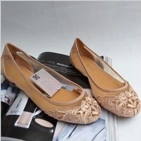 Brand ZAR2013 new women's flat sandals, comfortable net yarn lace female summer shoes, big size women casual shoes