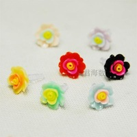 3.5mm resin flower mobile dust plug muti color available