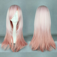 Free Shipping 62cm Long Color Mixed Beautiful lolita wig Anime Wig