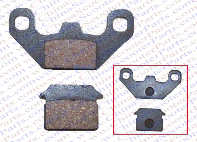 Brake Pad 50CC 70CC 90CC 110CC 125CC 140CC 150CC 160CC 200CC 250CC ATV Quad Dirt Pit Bike Parts(China (Mainland))