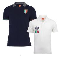 2013/14 Italy POLO fabrics of 100 % pure cotton top quality White Polo Shirt.Thai quality .Free shipping