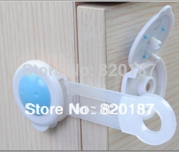 20pcs/lot Free shipping 16CM long style Cute Cartoon Bendy Door Drawers Safety Lock For Child Kids baby safety lock
