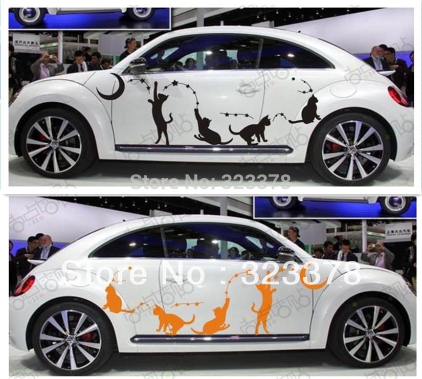 Online kopen wholesale leuke autostickers uit china leuke Custom vinyl windows online