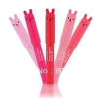 free shipping tony moly rabbit series lip balm lip gloss pen